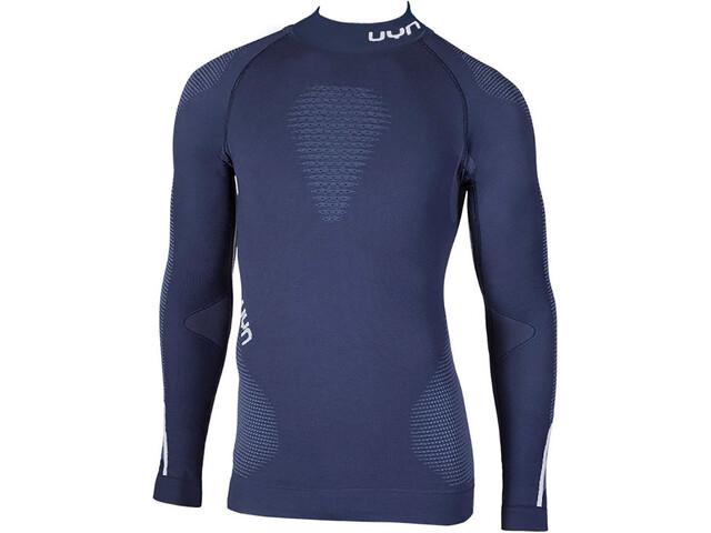 UYN Ambityon UW Rollkragen-Langarmshirt Herren deep blue/avio/white